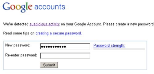 Gmail Eye on Suspicious Activity